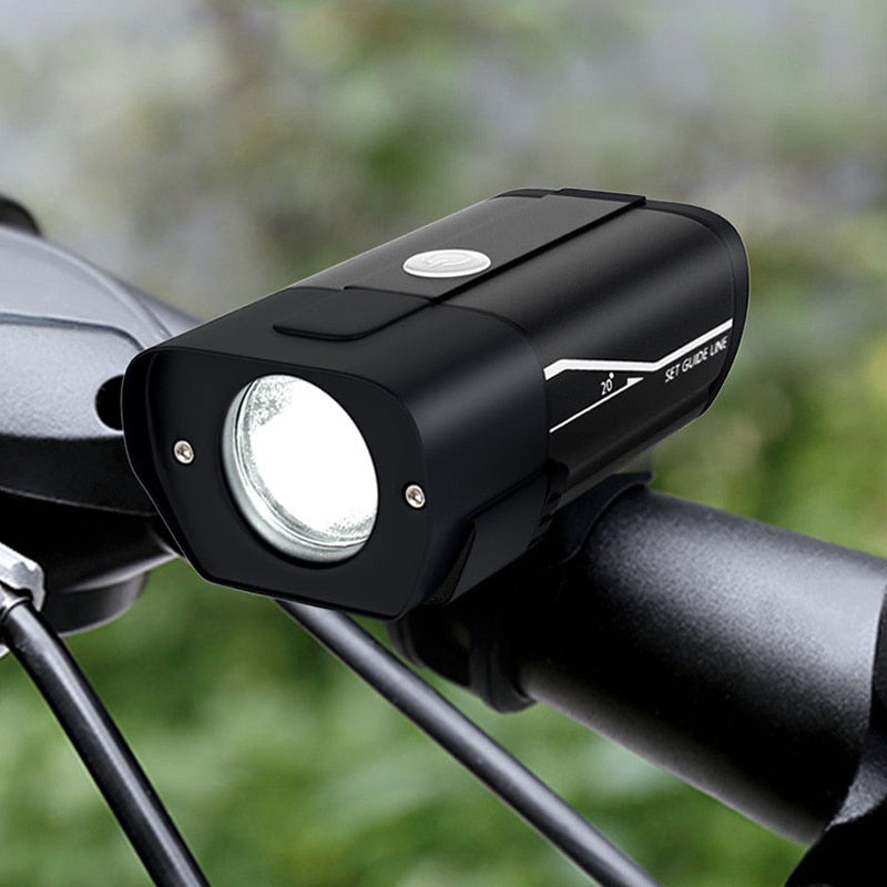 FTW Bike Light Rechargeable Bicycle Front Lamp LED