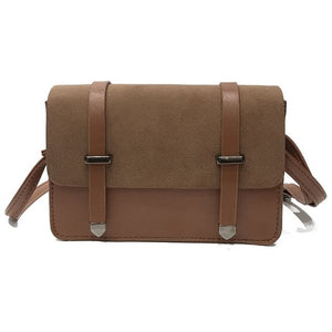 Women's Small Suede Messenger Handbag - Available in Many Colors