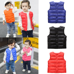 Fashion Simple Toddler Kids Baby Girls Boys Solid