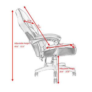 High Back Recliner Executive Racing Style