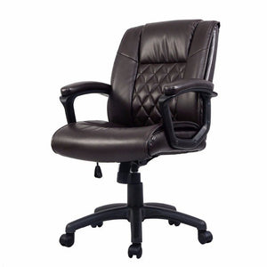 Ergonomic PU Leather Executive Computer Office Chair