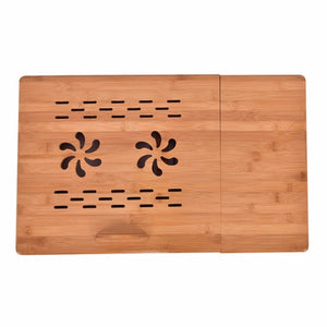 Portable Folding Laptop Table Bamboo Sofa