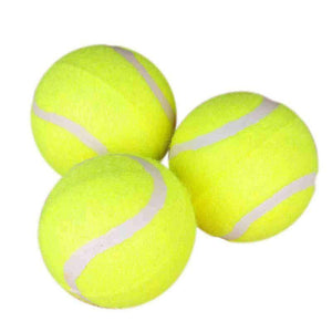 Rubber Pet Toy Ball Elastic Type Pet Tennis Ball,