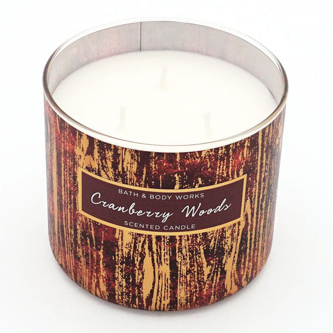 Bath & Body Works Cranberry Woods Candle