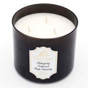 White Barn Mahogany Teakwood High Intensity Candle