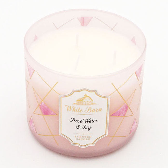White Barn Rose Water & Ivy Candle