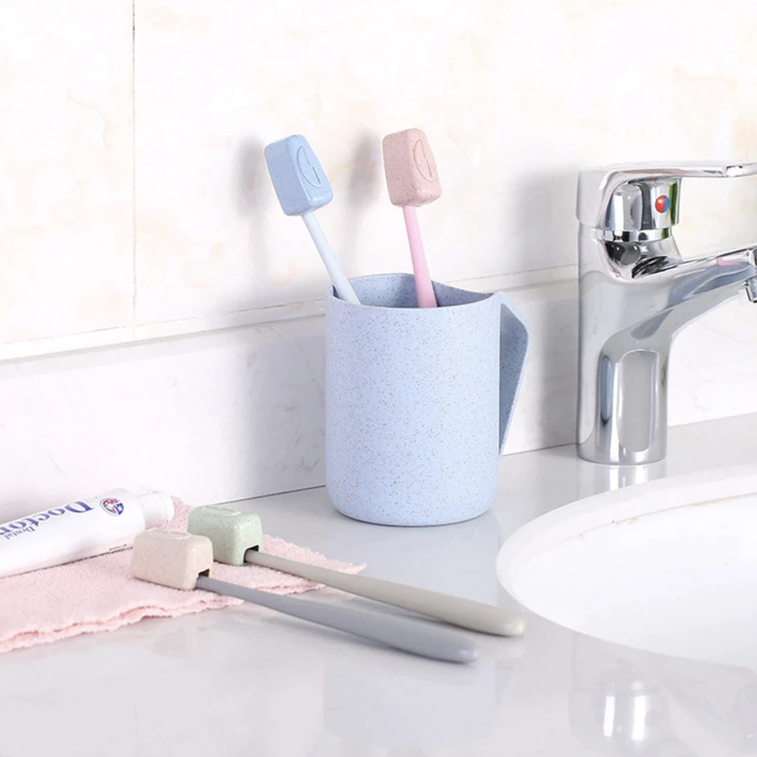 Toothbrush Covers (Set of 4)