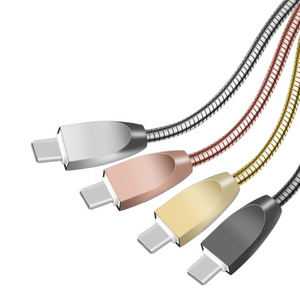 Metal USB Cables - Charge & Data (Android & iPhone)