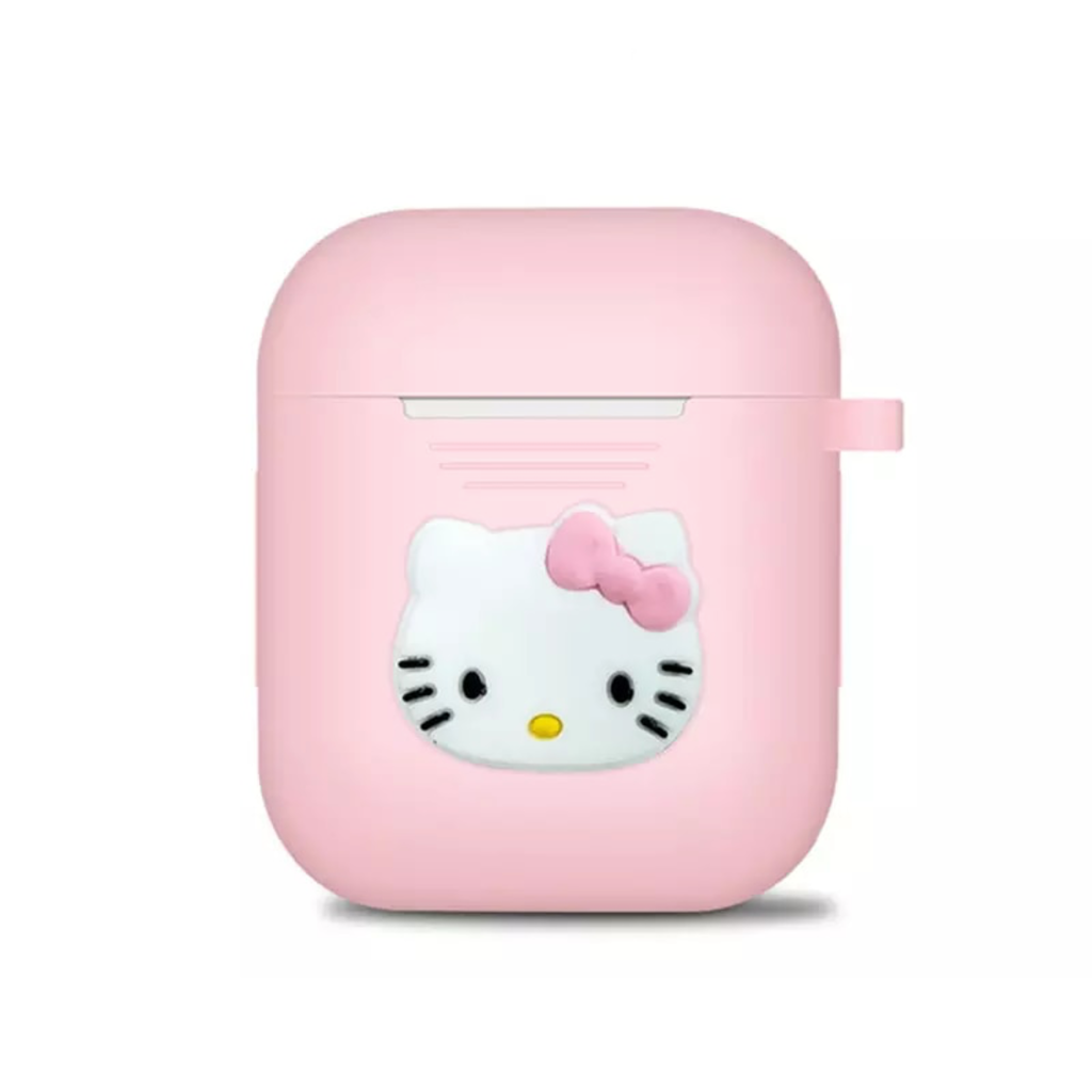 Hello Kitty Pink Silicone AirPods Case