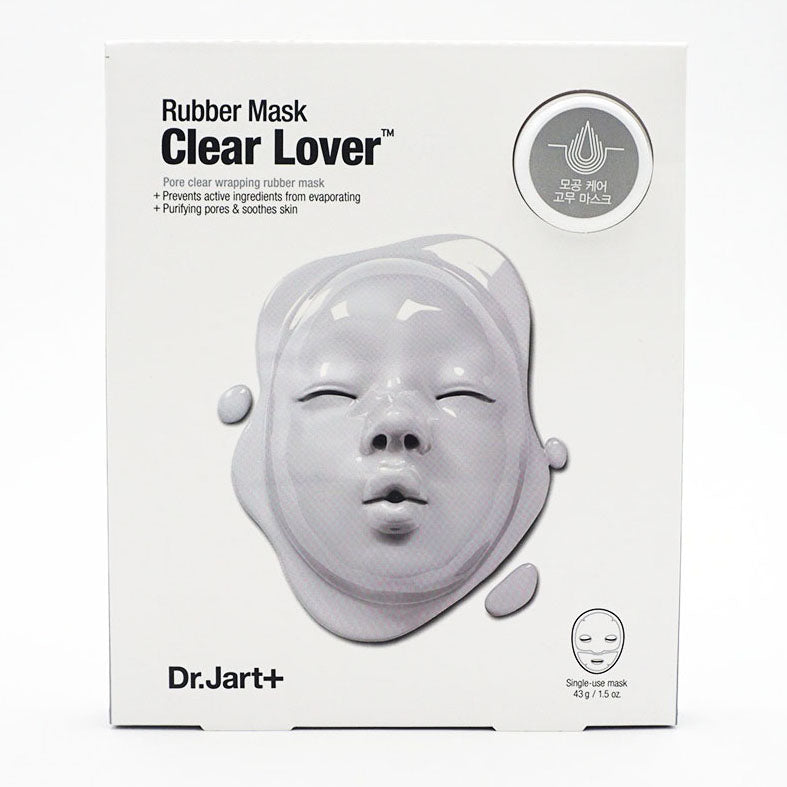 Dr.Jart+ Rubber Face Mask Clear Lover