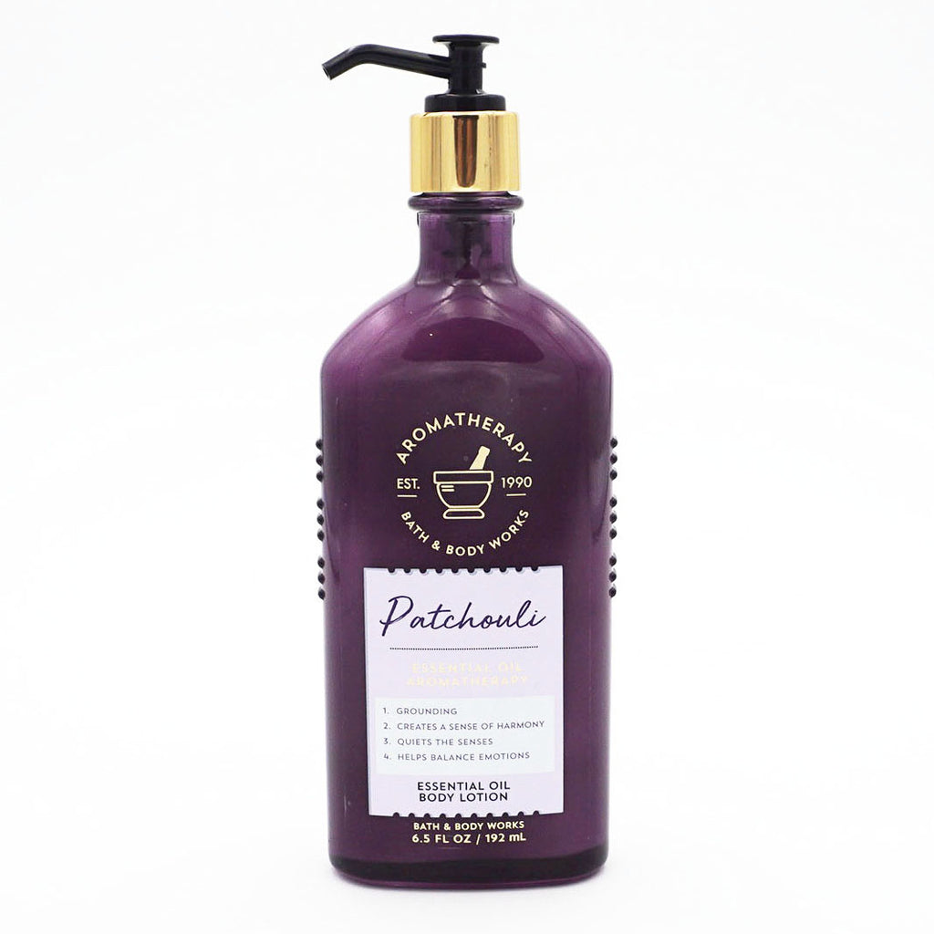 Aromatherapy Patchouli Body Lotion