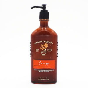 Aromatherapy Energy Orange + Ginger Body Lotion