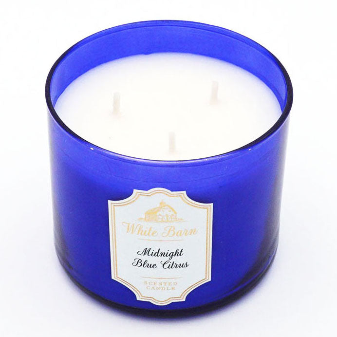 White Barn Midnight Blue Citrus Candle
