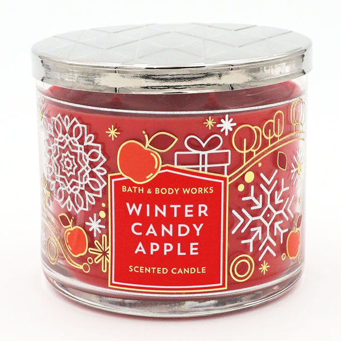 Bath & Body Works Winter Candy Apple Candle