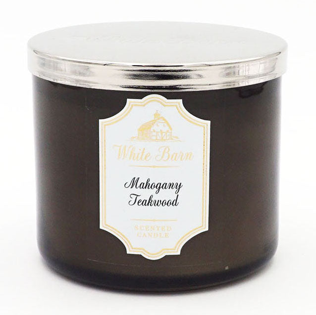 White Barn Mahogany Teakwood Candle