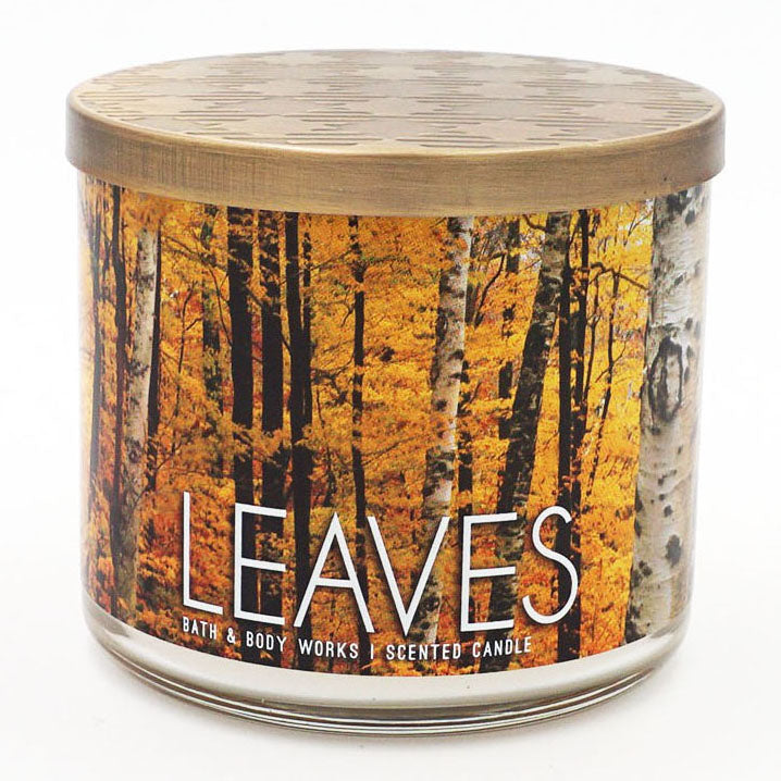 Bath & Body Works Leaves Candle