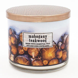 Bath & Body Works Mahogany Teakwood Candle