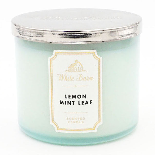 White Barn Lemon Mint Leaf Candle