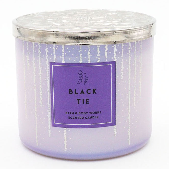 Bath & Body Works Black Tie Candle