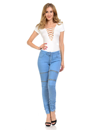 M.Michel Jeans Colombian, Push Up - N3481-2