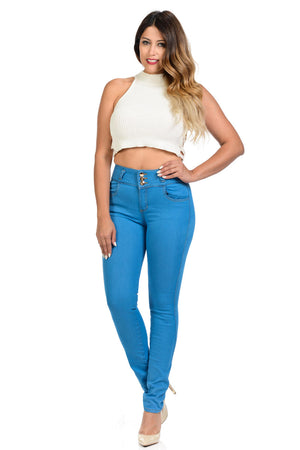 M.Michel Jeans Colombian, Push Up - WB12-2