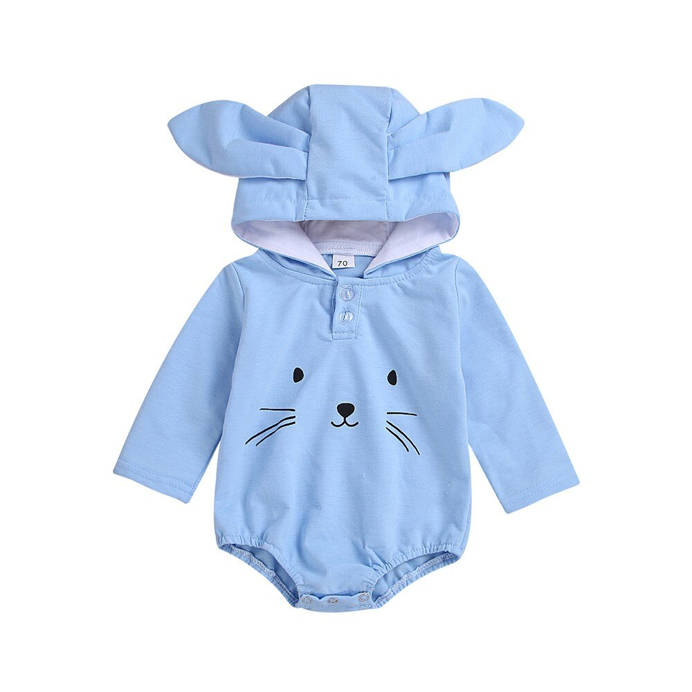 Toddler Baby Boys Girls Rompers Long Sleeve