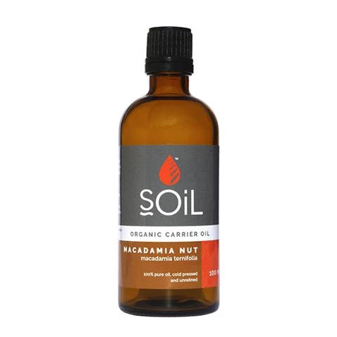 Organic Macadamia Nut Oil (Macadamia Integrifolia) 100ml