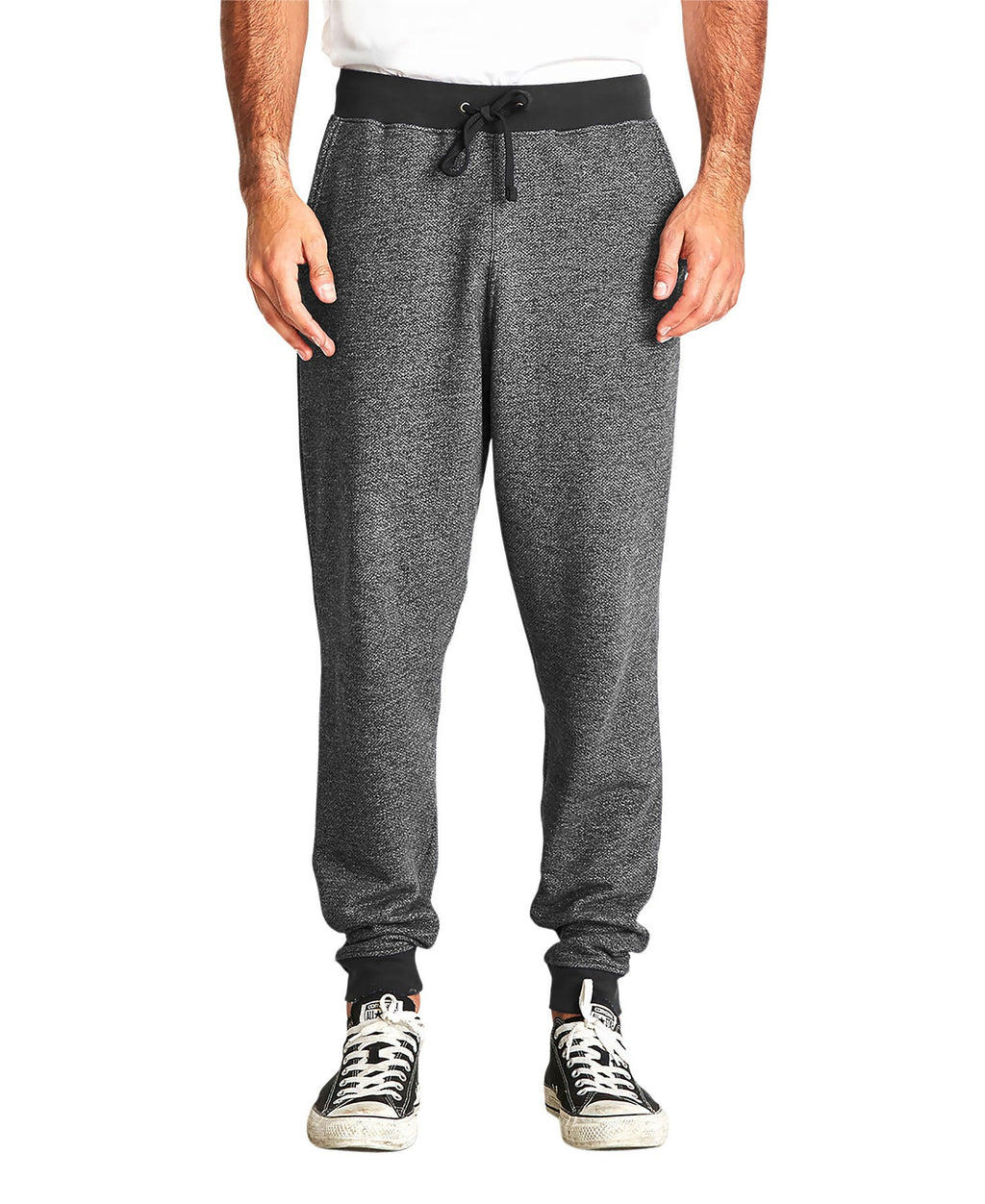 Next Level Men's Denim Fleece Joggers NL9800