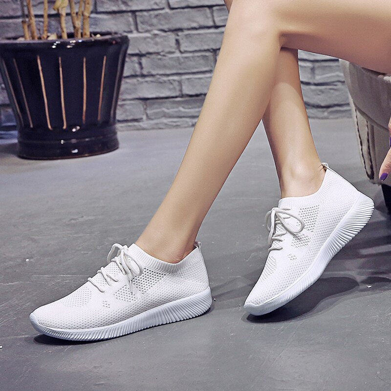 Women's Shoes Fly Woven Single Shoes