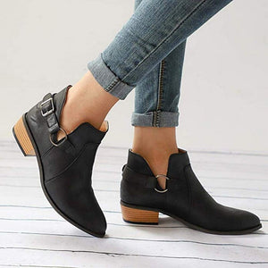 Women Boots Ladies Pointed Boots Large