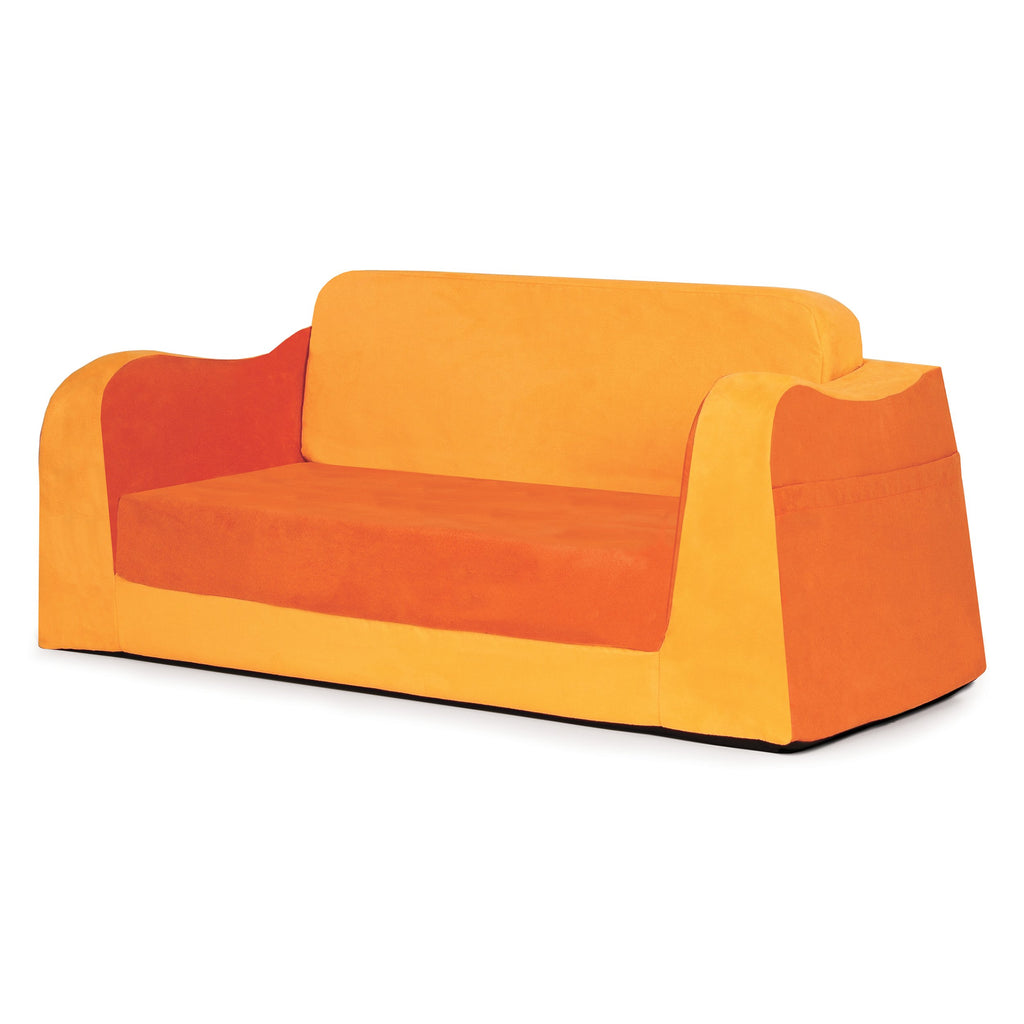 Kids' Little Reader Reading Fold-Out Sofa Lounge/Couch - Orange