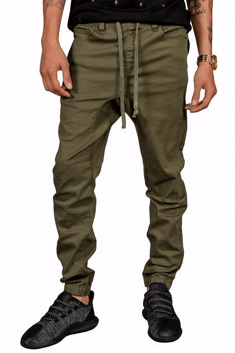 Rich V3 Twill Joggers (Olive)