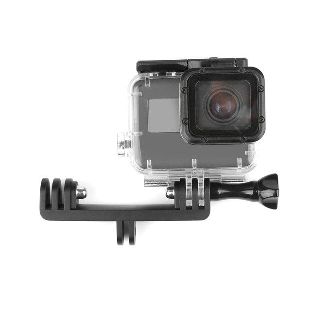 Double Bracket Bridge Connector with Screw for GoPro - Black