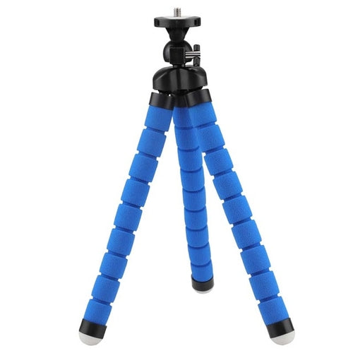 Flexible Octopus Tripod for GoPro - Black, Blue, Red