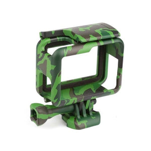 Side Open Protective Camouflage Case for GoPro - Khaki, Green, Gray