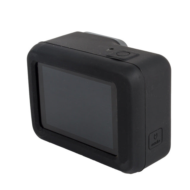 Soft Silicone Protective Case for GoPro - Black