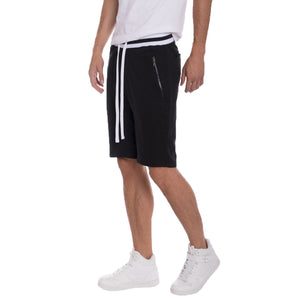 Brandon French Terry Shorts - Black
