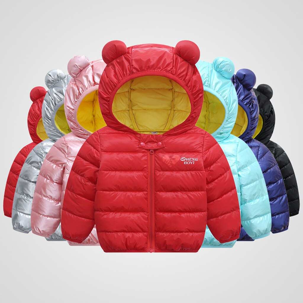 Toddler Baby Boys Girls Winter Cotton Windproof