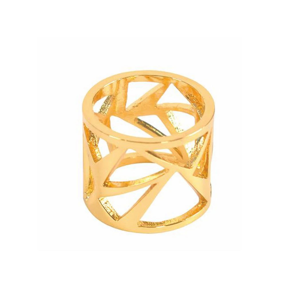 Women's Geometric Triangle Ring