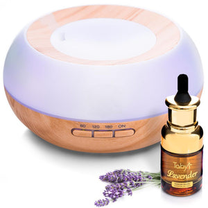 Essential Oils Air Aromatherapy Diffuser with 100% Pure Lavender Essential Oils