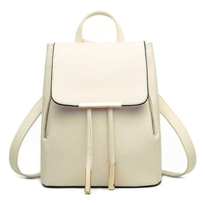 Women's High Quality PU Leather Backpack - Available in Many Colors