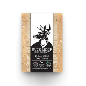 Buck Ridge Natural Handmade Vegan Soap - Clean Billy Oat Gruff