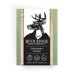 Buck Ridge Natural Handmade Vegan Soap - Northern Forest