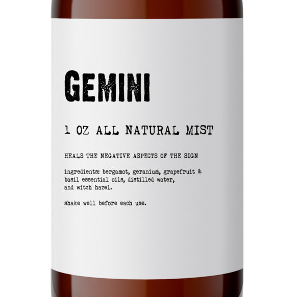 Gemini - All Natural Body Mist - Made with Essential Oils