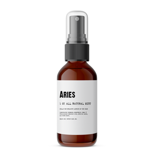Aries - All Natural Body Mist - Made with Essential Oils