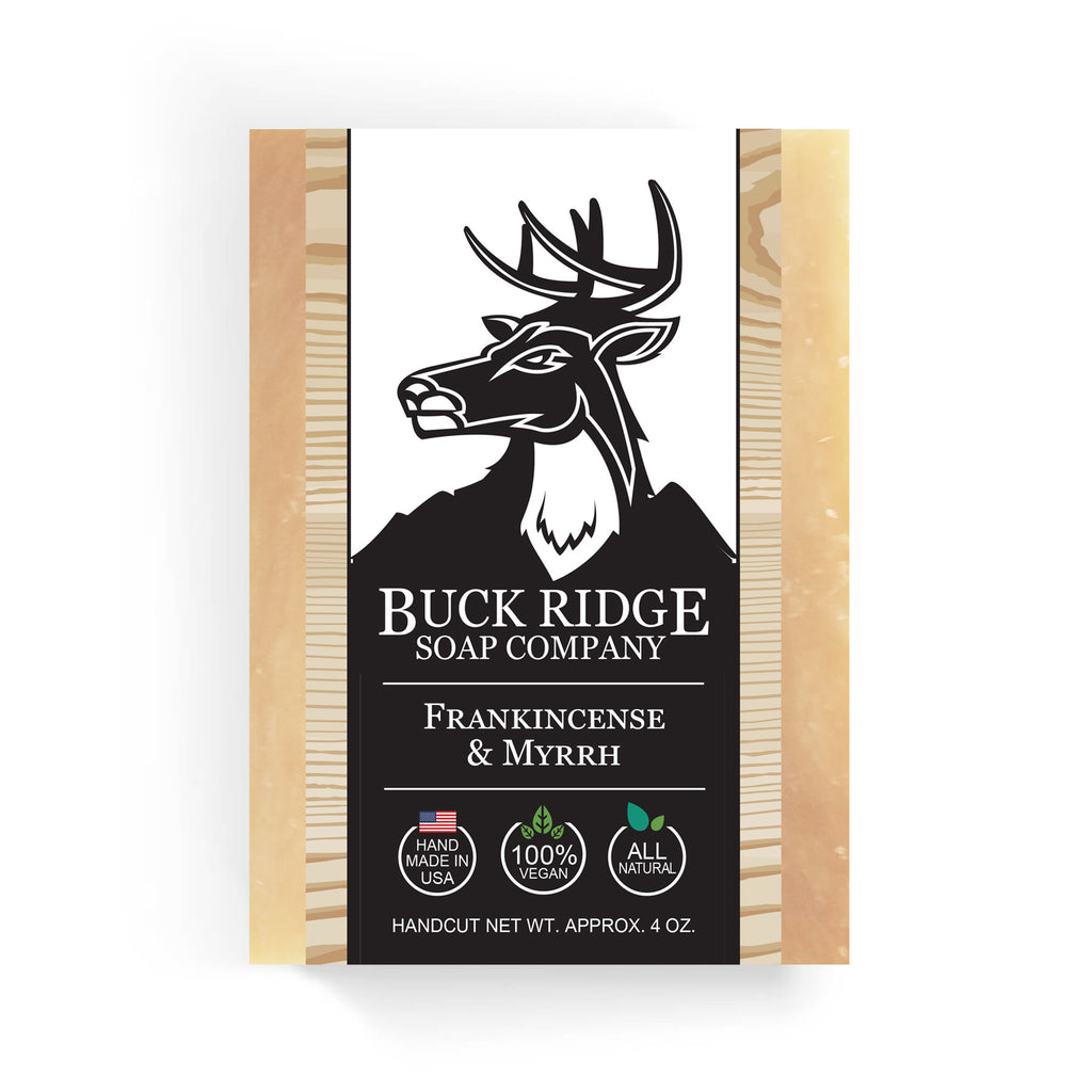 Buck Ridge Natural Handmade Vegan Soap - Frankincense and Myrrh