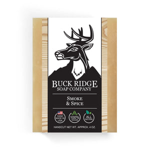 Buck Ridge Natural Handmade Vegan Soap - Smoke and Spice