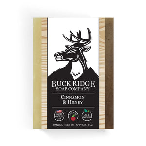 Buck Ridge Natural Handmade Vegan Soap - Cinnamon and Honey