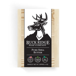 Buck Ridge Natural Handmade Vegan Soap - Pure Shea