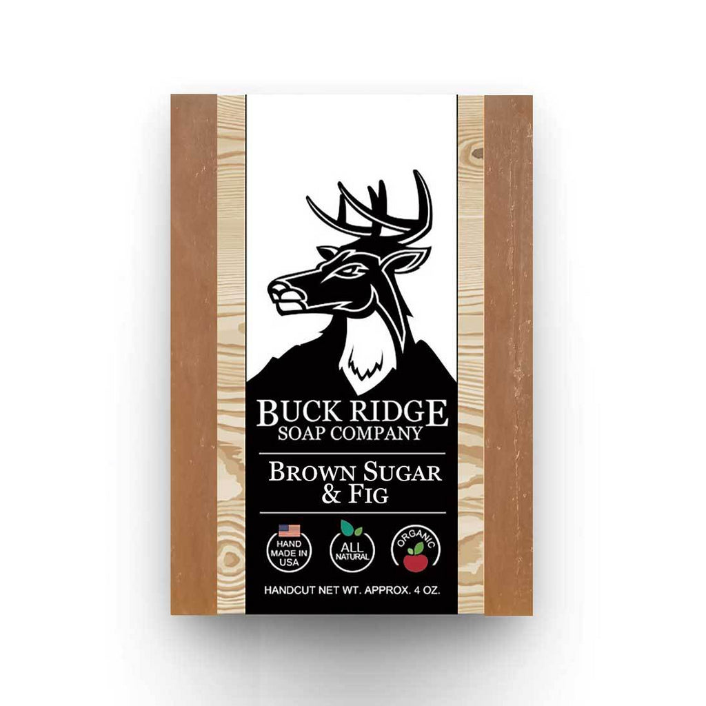 Buck Ridge Natural Handmade Vegan Soap - Brown Sugar and Fig